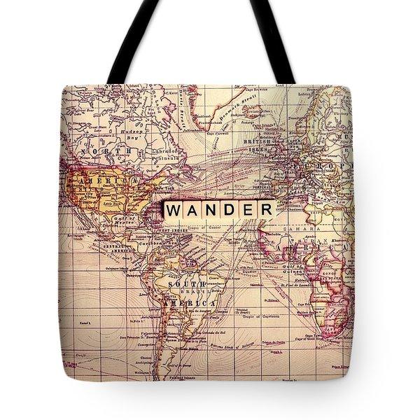 Wander Tote Bag by Sylvia Cook