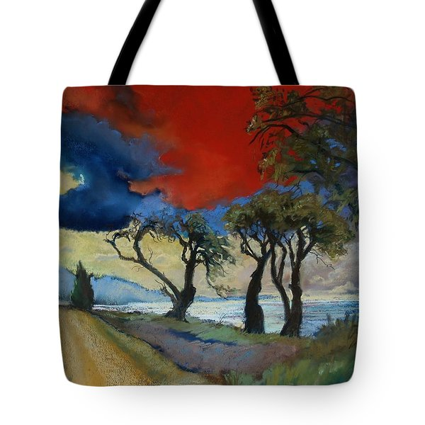 Wander Where The Wind Blows Tote Bag by Robin Maria Pedrero