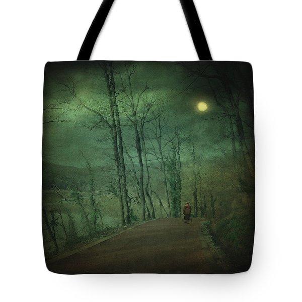 Wanderer Tote Bag by Taylan Apukovska
