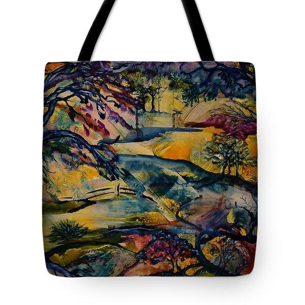 Wandering Woods Tote Bag