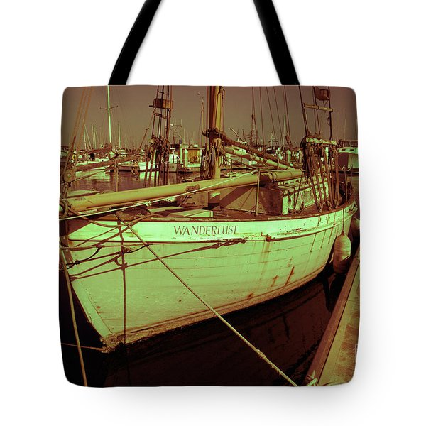 Wanderlust Tote Bag by Amanda Barcon