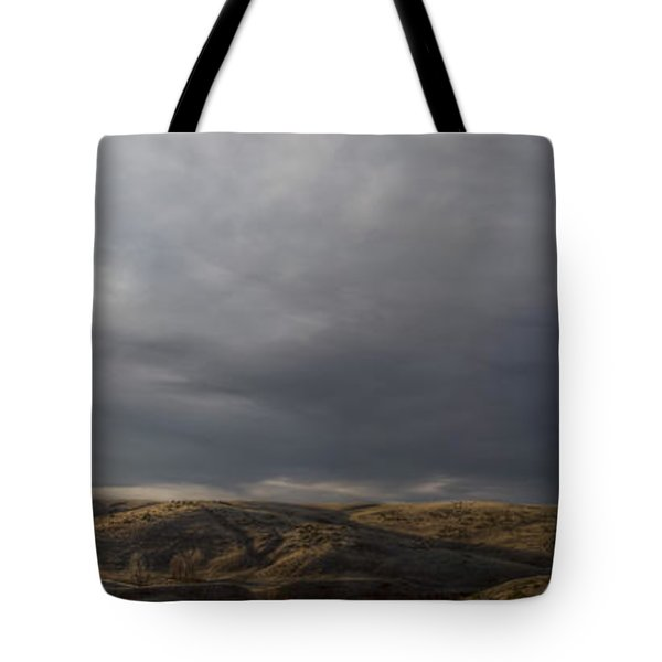 Waning Light On The Hills Of South Dakota Tote Bag
