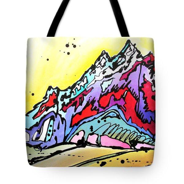 Waning Seasons In The Tetons Tote Bag
