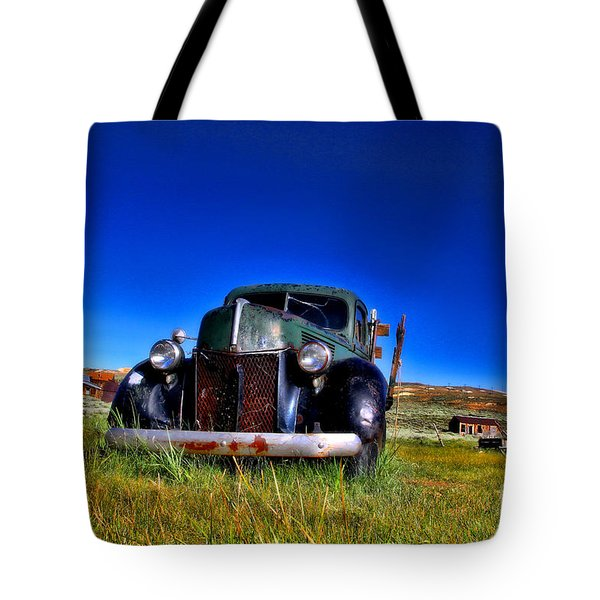 Wanna Ride - Bodie Ghost Town By Diana Sainz Tote Bag