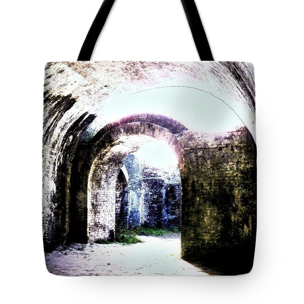 War At Fort Pickens Tote Bag