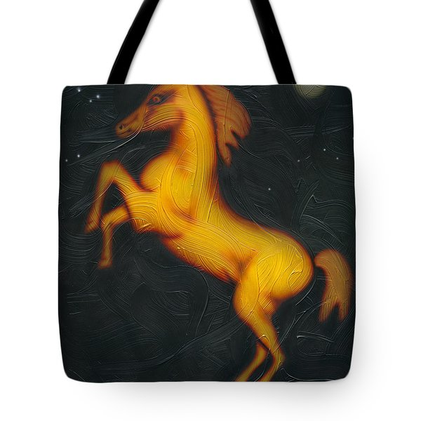 War Horse. Tote Bag by Kenneth Clarke