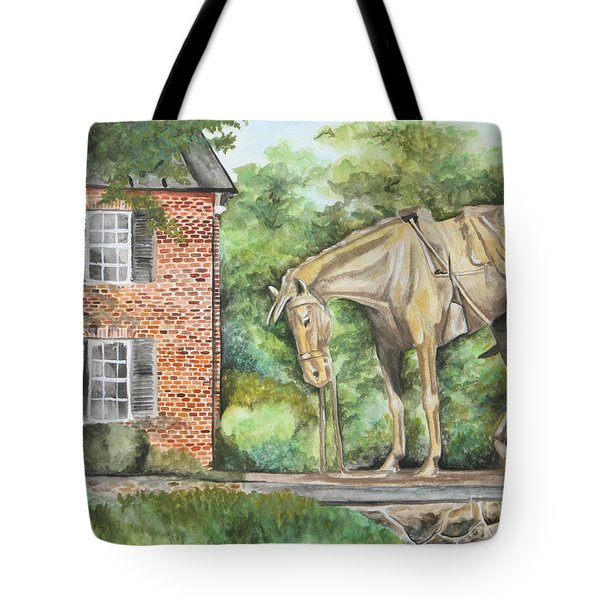 War Horse Memorial Tote Bag