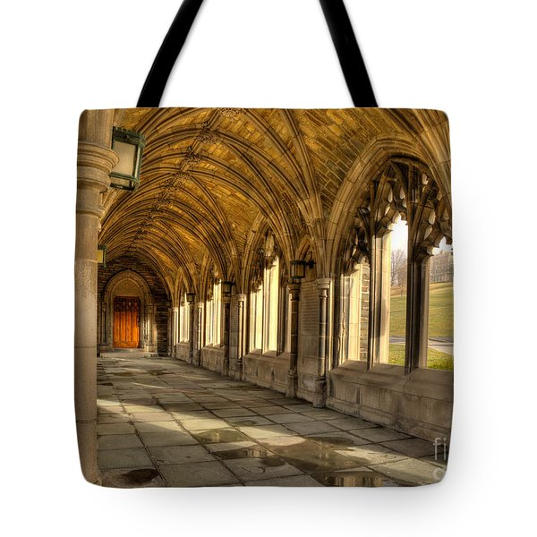War Memorial Cornell University Tote Bag