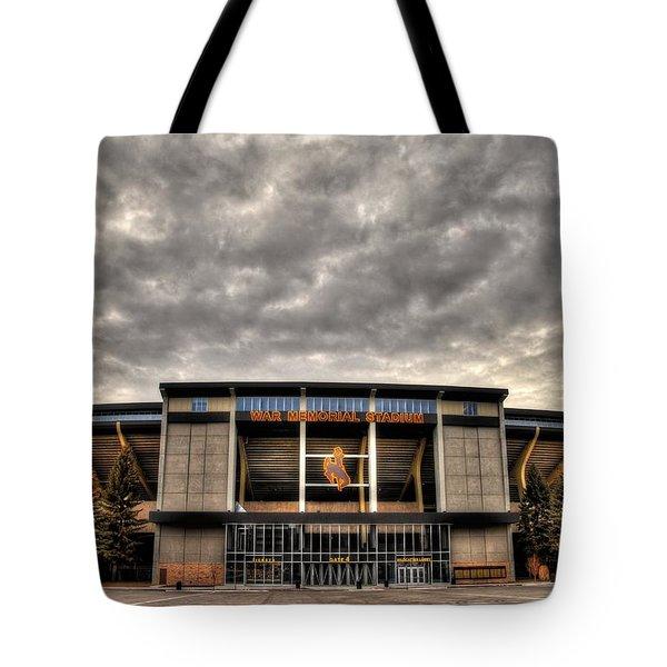 War Memorial Stadium Tote Bag