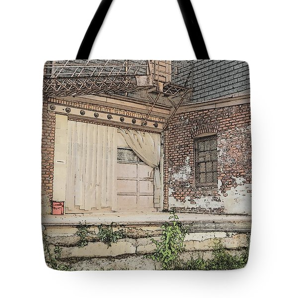 Warehouse Dock Tote Bag