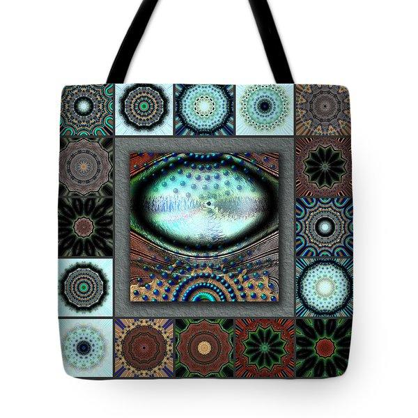 Warm Cosmos Redux Tote Bag