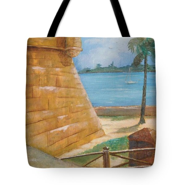 Warm Days In St. Augustine Tote Bag