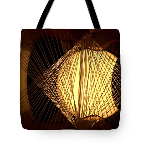 Warm Fusion Tote Bag by Newel Hunter