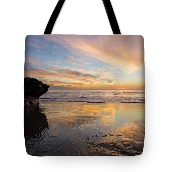 Warm Glow Of Memory Tote Bag by Alex Lapidus