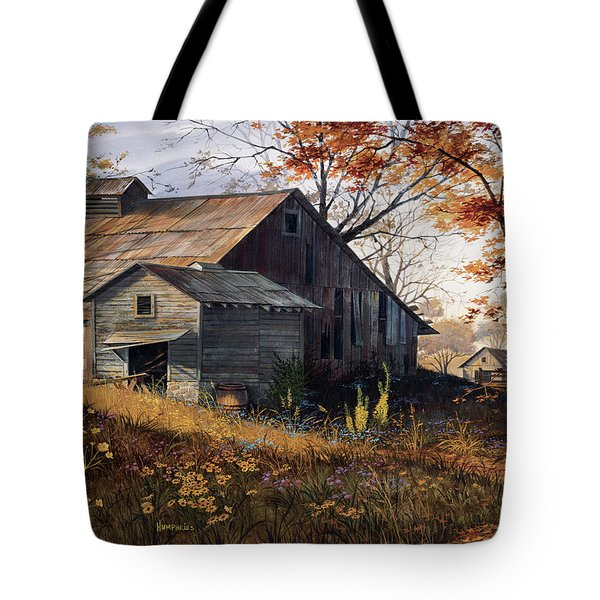 Warm Memories Tote Bag by Michael Humphries