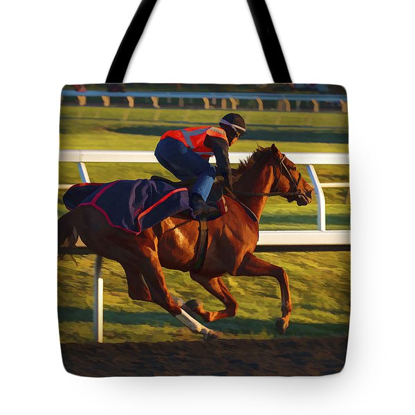 Morning Work Out Tote Bag
