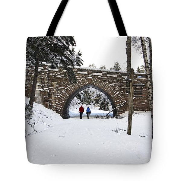 Warm Winter Day Tote Bag