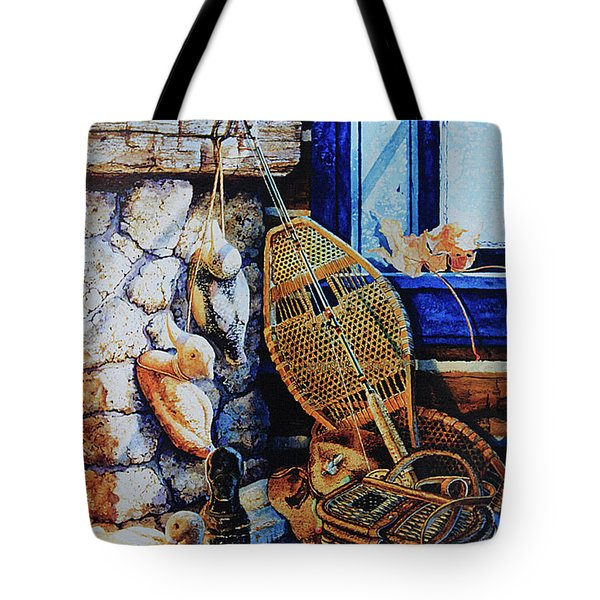 Warm Winter Wishes Tote Bag by Hanne Lore Koehler