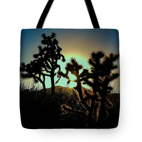 Warmed By The Golden One Tote Bag
