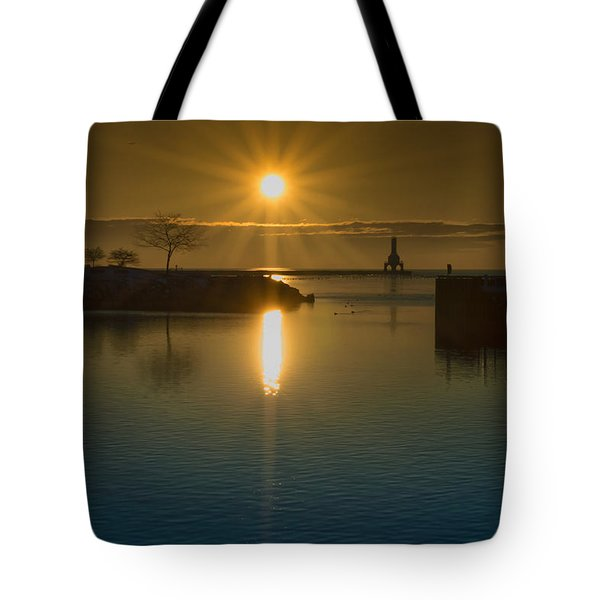 Warming Sun Tote Bag