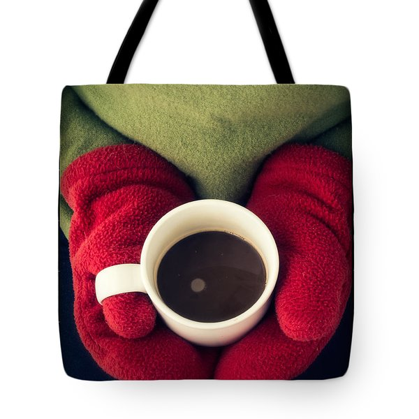 Warming Up With Hot Cocoa Tote Bag