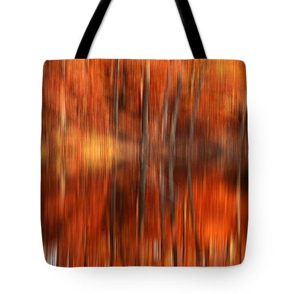 Warmth Impression Tote Bag