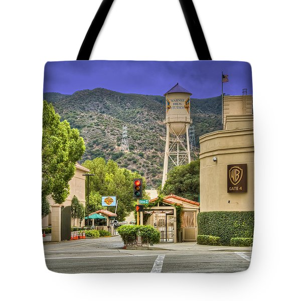 Warner Bros.  Burbank Ca  Tote Bag