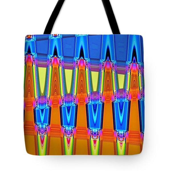 Warp Seven Tote Bag