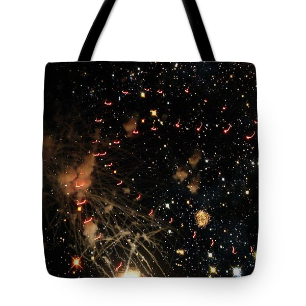 Warp Speed Tote Bag by Cynthia Lassiter
