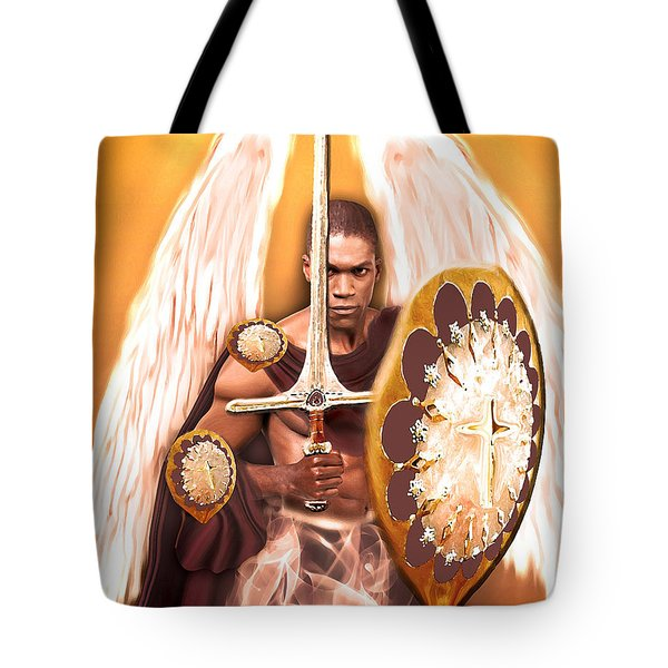 Warrior Angel Tote Bag