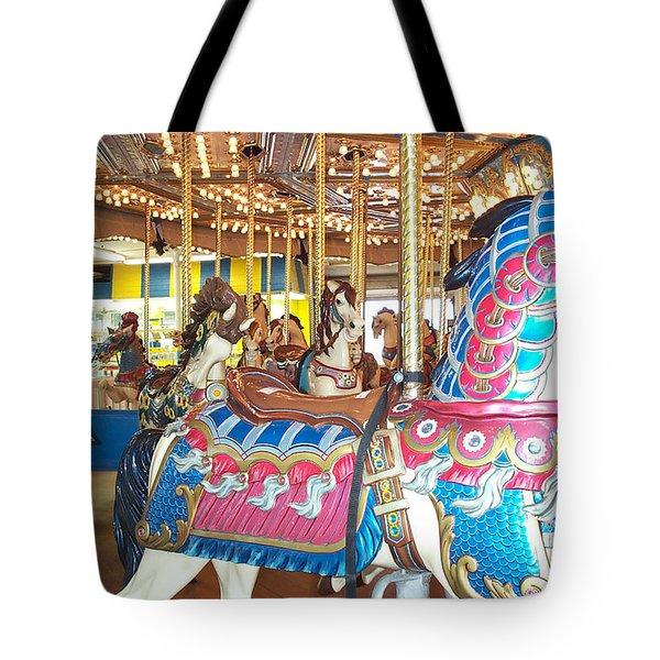 Warrior Tote Bag by Barbara McDevitt