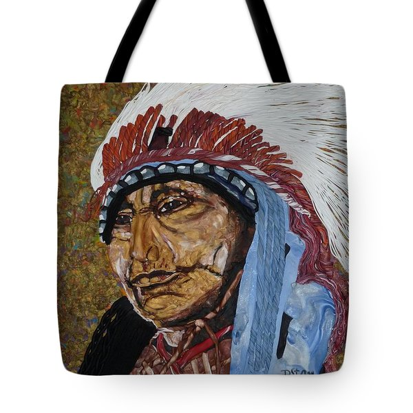Warrior Chief Tote Bag
