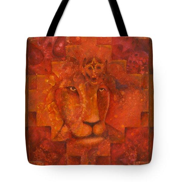 Warrior King Tote Bag