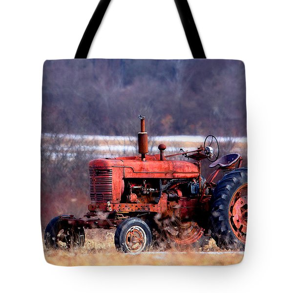 Warrior Of The Fields Tote Bag