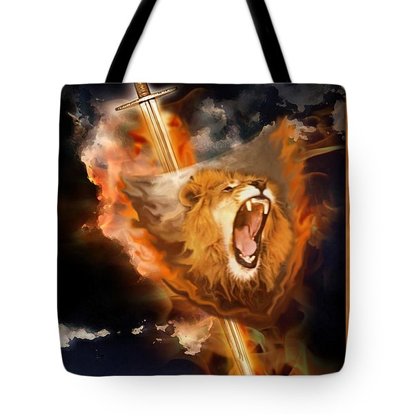 Warrior's Heart Tote Bag