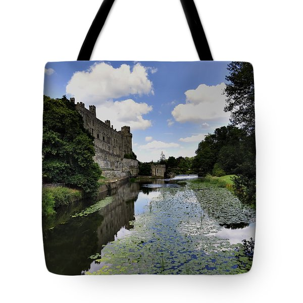 Warwick Castle Tote Bag