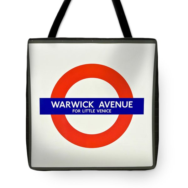 Warwick Station Tote Bag by Keith Armstrong