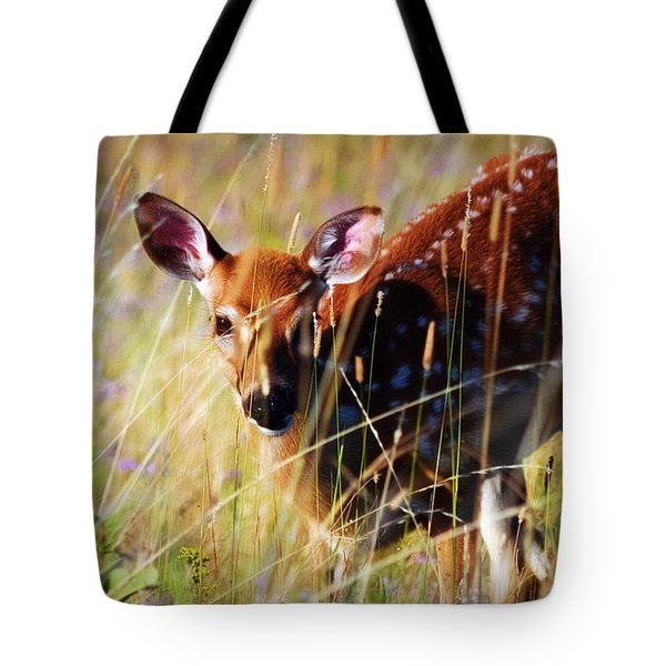 Wary Tote Bag by Heather Applegate
