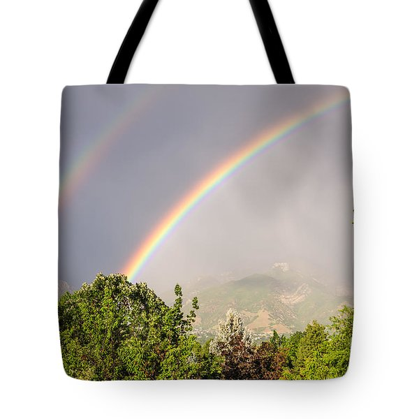 Wasatch Rainbow Tote Bag