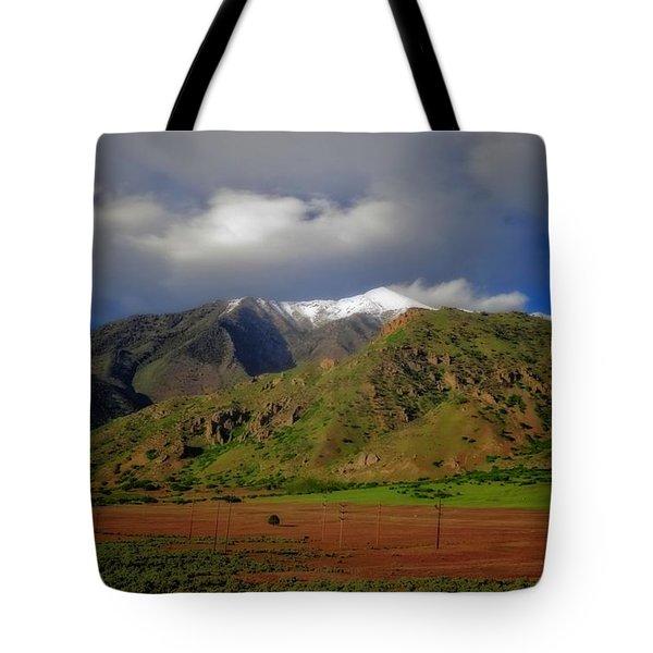 Wasatch Range In Utah Tote Bag