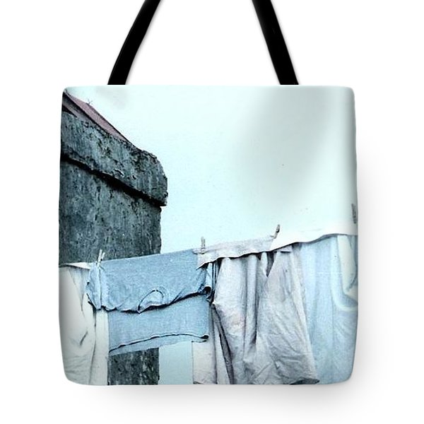 Wash Day Blues In New Orleans Louisiana Tote Bag
