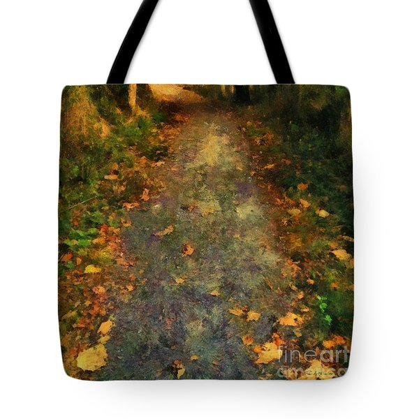 Washed In Gold Tote Bag by RC deWinter