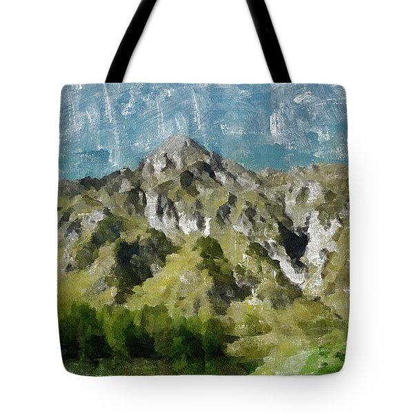 Washed Out Tote Bag by Ayse Deniz