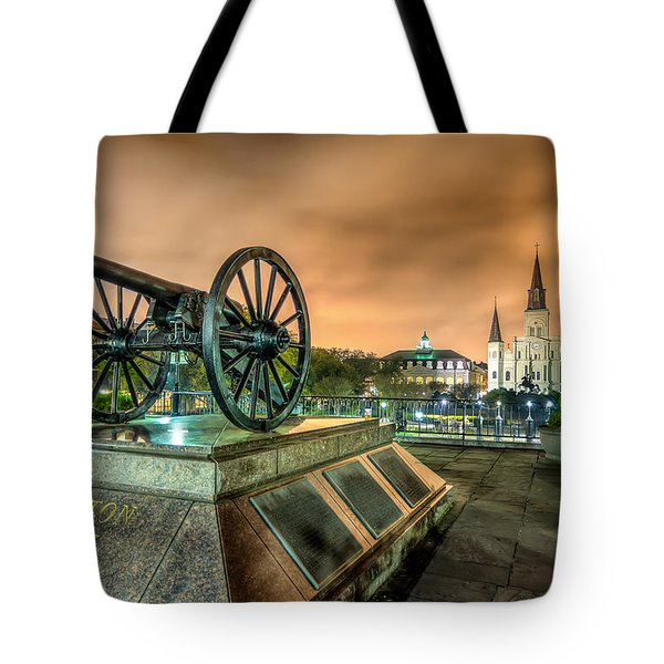 Washington Artillery Park Tote Bag by Tim Stanley
