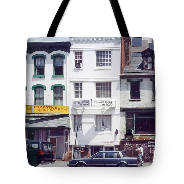 Washington Chinatown In The 1980s Tote Bag