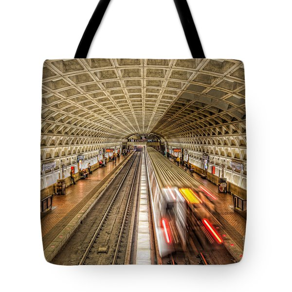 Washington Dc Metro Station Xi Tote Bag