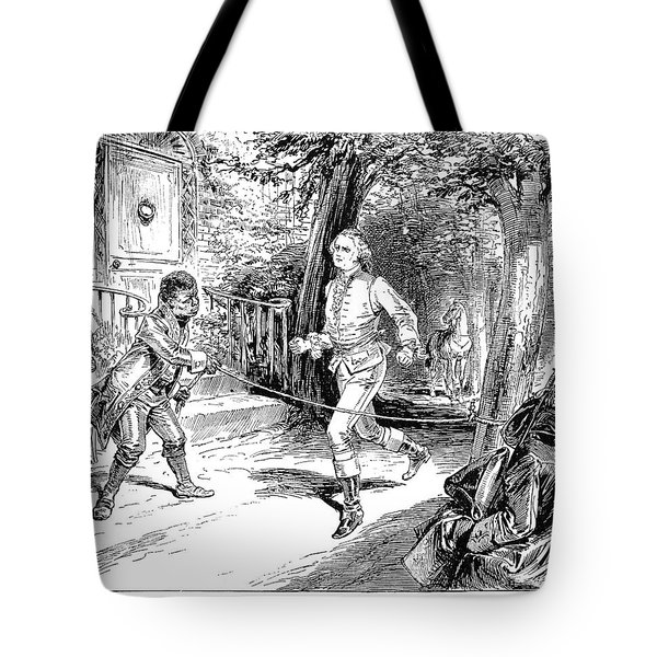 Washington Exercise Tote Bag