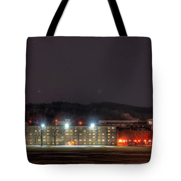 Washington Hall At Night Tote Bag