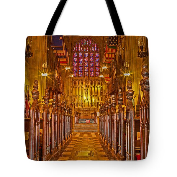 Washington Memorial Chapel Altar Tote Bag