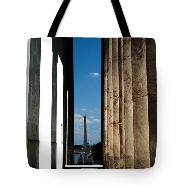 Washington Monument Color Tote Bag